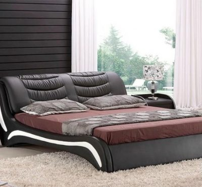 leather-bed