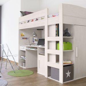Kids High Sleeper Bed | Gautier Montana High sleeper Bed